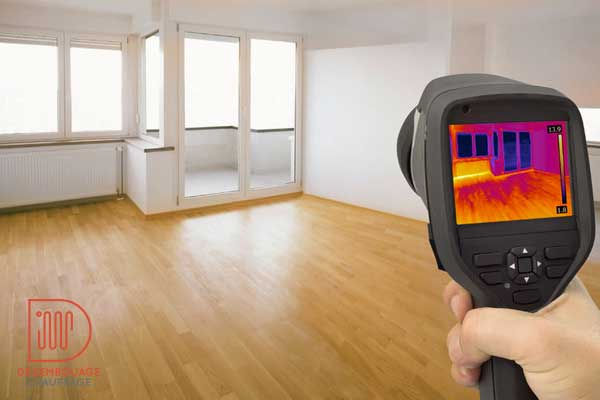 thermographie plancher chauffant
