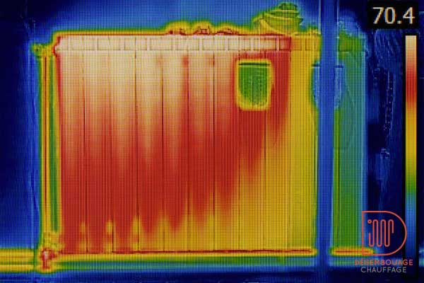 thermographie radiateur
